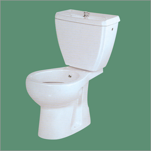 Ceramic Plain White European Water Closet