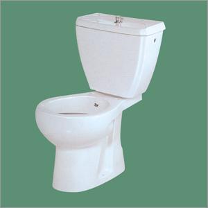 Ceramic Plain White European Water Closet