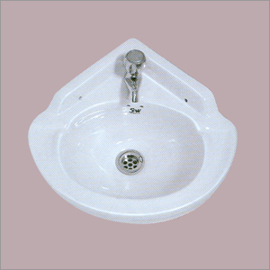 Ceramic Corner Wash Basin