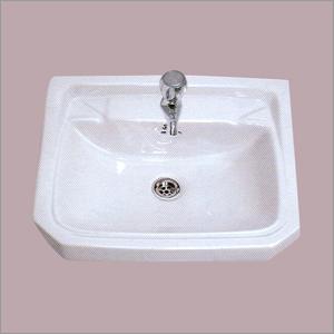 Ceramic Plain Wash Basin
