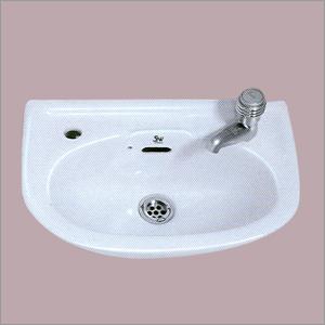 Ceramic Wash Basin Plain Table Top