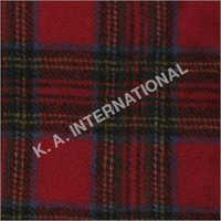 Scottish Check Wool Tweed Fabric