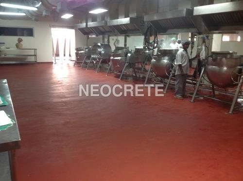 Food-grade PU Flooring