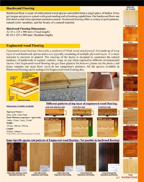 Solid Wooden Flooring