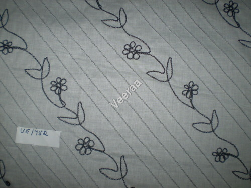 Embroidery Pintuck Fabric
