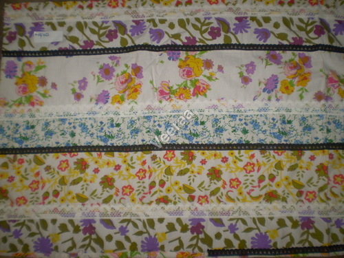 Printed Patchwork Fabric