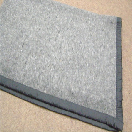 Grey Relief Blanket