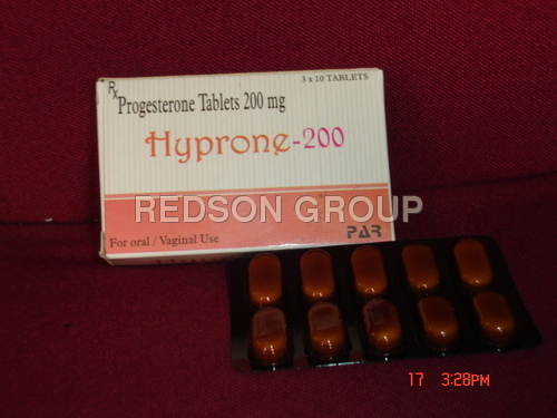 Progesterone Tablets (Hyprone-200 mg.)