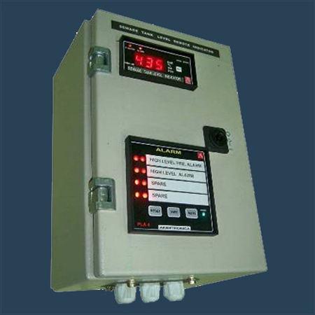 Sewage Tank Level Remote Indicator