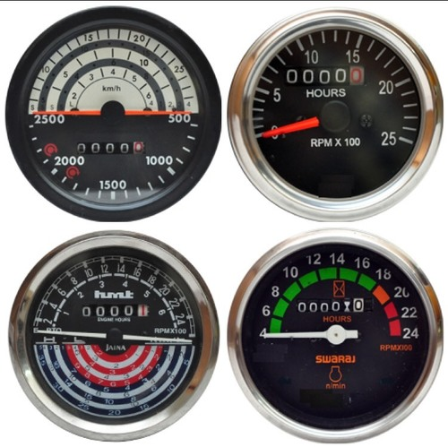 Hour Cum RPM Meter