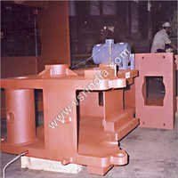 Stress Relieving Services For Fabricated Press Frame