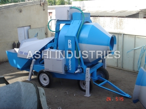 Mobile Concrete Mixer Unit