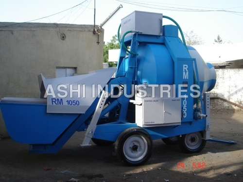 Reversible Mobile Batching Unit
