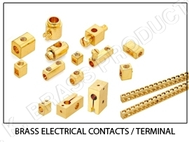 Brass Electrical Wiring Accesories and Contacts