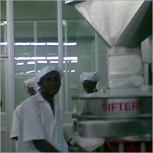 Dairy Plant Sifter