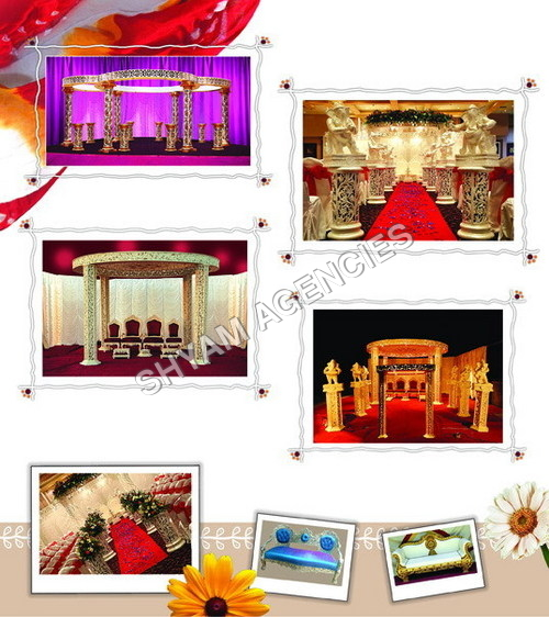 Decorative Indian Mandap