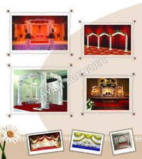 Decorative Wedding Mandap