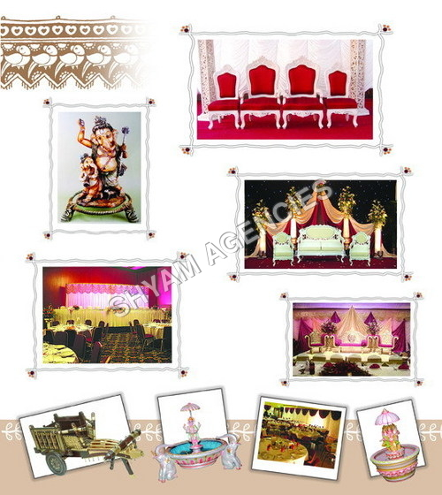 Wedding Mandap Accessories