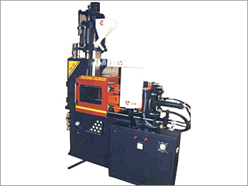 Horizontal Locking Vertical Injection Molding Mach