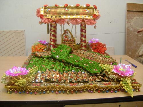 Theme Saree Packing Theme Saree Packing Manufacturer Supplier Inspiration Saree Tray Decoration
