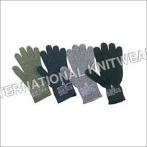 Military Woollen Gloves