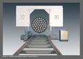 Condensor Vessel Heat Exchanger End Cutting Machine