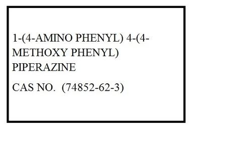 1-(4-Amino Phenyl) 4-(4-Methoxy Phenyl) Piperazine