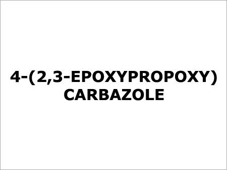 4 2 3 Epoxypropoxy Carbazole