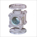 Double Window Sight Glass Flanged Valves