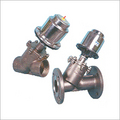 Angle Type On-Off Control Valves 2/2 Way Pneumatic