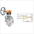 Worm Gear Operated Spherical Disc Valve