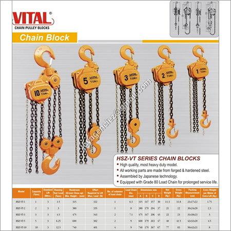 Vital Chain Pulley Blocks