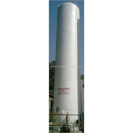 Vacuum Insulated Cryogenic Storage Tank