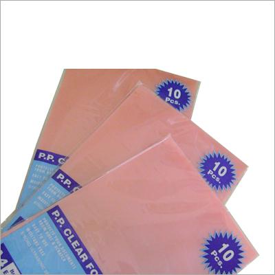 PP Transparent Folder