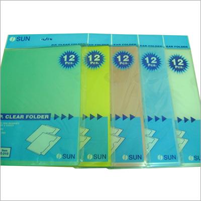 Plastic Pocket Folders
