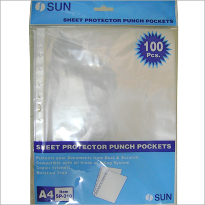 Sheet Protector Pockets