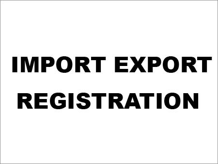 Import Export Registration