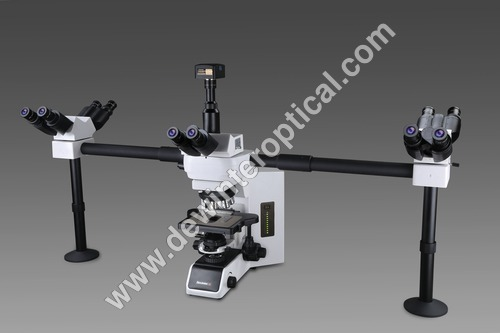 Five Head Teaching Microscope Light Source: No