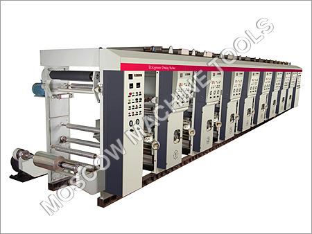 Hi End Rotogravure Printing Machine