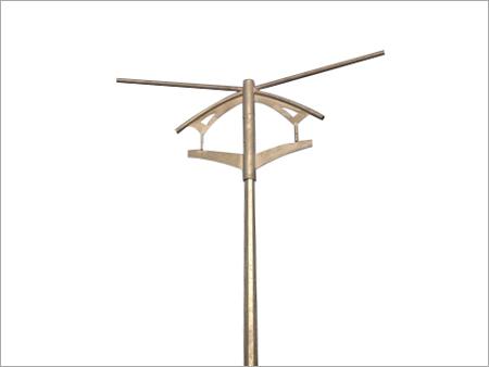 Bridge lighting Pole