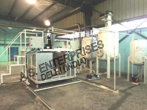 Batch Foaming Machine