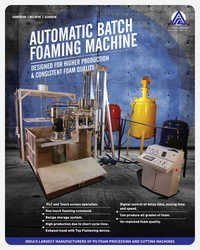 Batch Foam Machine