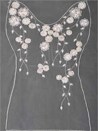 Embroidered Beaded Bridal Gown