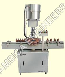 Single Head Screw Capping Machine