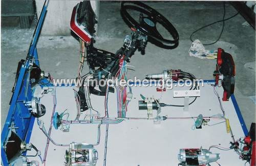 Mock up of Car Electrical System