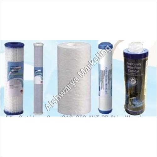 Filter Cartridges - Spun, GAC, CTO, MLT, PP, Strin