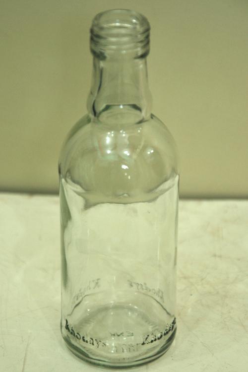 180 ml Khodays Rum Glass Bottles