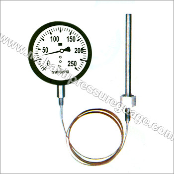 Mercury In Steel Thermometers