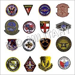 Military Metal Badges