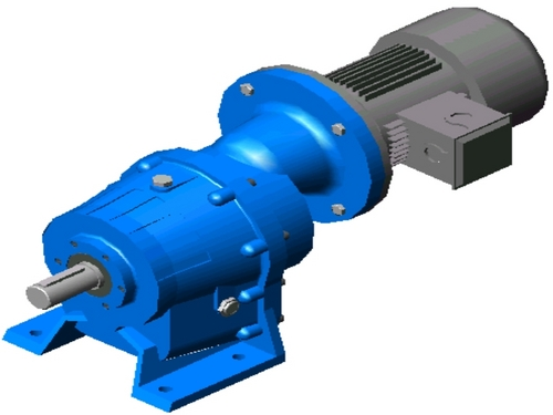 Helical Geared Motor (3 stage)